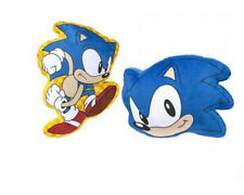 OFFICIAL SEGA SONIC THE HEDGEHOG SUPER SOFT LARGE GAMING CUSHION NEW WITH TAGS