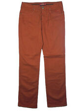 Pantaloni Jeans uomo JAGGY McQueen Tg W33 IT 46-48 Orange Cotone Gabardine