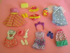 Lot of Barbie Kelly Doll Clothes, Accessories And Shoes Lot A