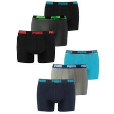 Puma Basic Boxer Short Trunk 3er 6er Mix S M L XL Outline Catbrand Promo NEU
