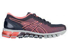 NEW WOMENS ASICS GEL-QUANTUM 360 RUNNING SHOES TRAINERS INDIA INK / FLASH CORAL