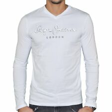 PEPE JEANS - T SHIRT MANCHES LONGUES - HOMME - ORIGINAL STRETCH LONG FLOCK NEUF
