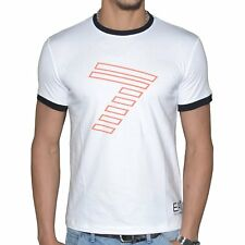EA7 - TEE SHIRT MANCHES COURTES - COL ROND - HOMME - EA7 TRAIN 7 COLOURS - NEUF