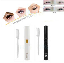 Electric Heated Eyelash Curler Makeup No Hurt Eye Lash Long Lasting With Comb LS