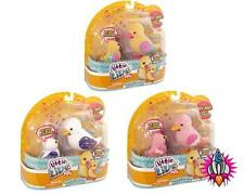 LITTLE LIVE PETS LIL DUCK AND BABY DUCKLING FAMILY ELECTRONIC TALKING PETS