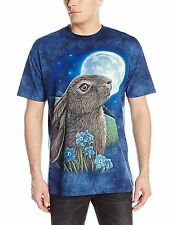 Moon Gazer Moongazing Hare T Shirt Adult Unisex The Mountain NEW  S - 2XL
