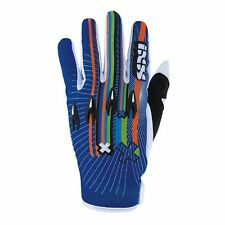 IXS 43307 MX Guanti Guanti da Cross Fuoristrada Trial Quad Cross RUSH blu