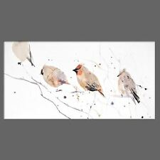 JEN BUCKLEY signed LIMITED EDITON PRINT of my original WAXWINGS