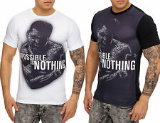 Ali Impossible is nothing Camisa De Manga Corta Clubwear Camiseta T-Shirt