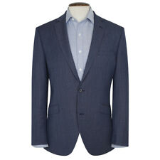 New Mens Brook Taverner Butt Tailored Fit Check Jacket - Navy/Blue - Choose Size