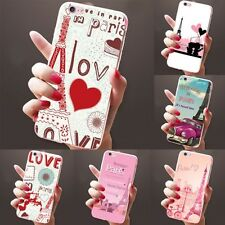 Parigi motivo custodia cellulare cover per iPhone 6 6s 7 PLUS SAMSUNG GALAXY