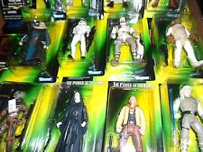 Star Wars Power Of The Force II 2 - GREEN Card Carded Figures 1996 1997 Kenner