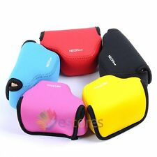 Neoprene Soft Camera Case Pouch Bag Cover for Nikon V3 10-30mm Lens SLR