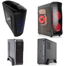 CASE PC COMPUTER GAMING MICRO ATX ITX MIDDLE TOWER USB 3.0 ALIMENTATORE 500W