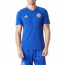 Adidas Homme col V T SHIRT FOOTBALL CHAMPIONS CHELSEA FC coton polyester