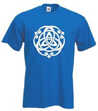 CELTIC KNOT T-SHIRT - Pagan Druid Wicca Goth Gothic - Choice Of Colours FREE P&P