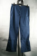 WOOLRICH DONNA COTONE ESTATE PANTALONI BLU Ladies blue M, L