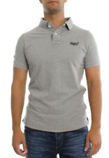 Superdry Polo homme Classic Pique Ss Polo gris MARNE