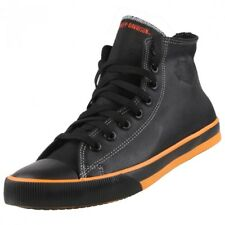 NEUF HARLEY DAVIDSON Chaussures Homme Baskets montantes à lacets bootys en cuir
