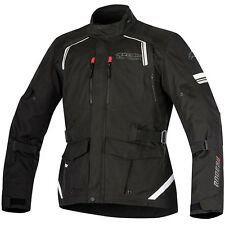 Alpinestars Andes V2 Drystar Waterproof Textile Motorcycle Touring Jacket Black