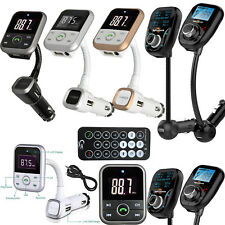 Wireless Bluetooth Car MP3 Player FM Transmitter LCD USB Radio SD Charger Kit