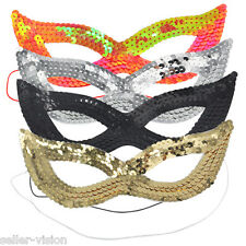 gattina sexy donna strass SPLENDENTE Maschera Costume Ballo In Festa