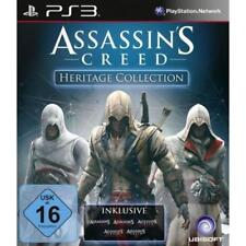 Ps3 - Ac Heritage Collection Ps-3 Assassins Creed (alle Ac Bis Ac3) [DE-Ver NEU