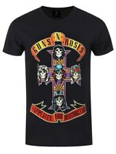 Guns N' Roses Guns N Roses Appetite For Destruction Men's Black GNR T-shirt
