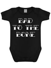 Grindstore Kidz - Bad To The Bone Baby Grow