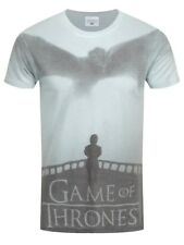 Game of Thrones Dragon And Tyrion All Over Sub Men's White T-shirt