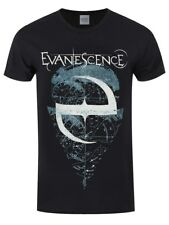 Evanescence Space Map Men's Black T-shirt