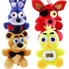 "OFFICIAL FIVE NIGHTS AT FREDDYS 12"" PLUSH SOFT TOY TOYS FOXY BONNIE FREDDY CHICA"