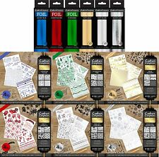 Crafters Companion Christmas Foil Transfers & Foil Rolls Cardmaking Scrapbooking