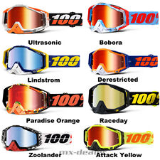 100% Prozent Racecraft OCCHIALI MOTOCROSS ENDURO DOWNHILL MTB GOGGLE bmx cross