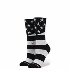 2017 NWT WOMENS STANCE CLASSIC CREW MISS INDEPENDENT SOCKS $12 black