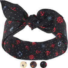 Küstenluder ALEASE Anchor Punkte SAILOR Nautical Nickituch BANDANA Rockabilly
