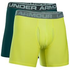 Under Armour Heatgear O Series 6'' Boxerjock 2 Pack Boxer Shorts 1282508-919