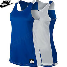 Nike Ladies Reversible Basketball Vest Dri Fit Running Gym Womens Top Size M
