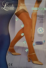 Levante Calze 70 Denier Levia Sheer Support Stockings Natural