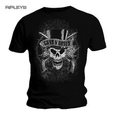 Official T Shirt GUNS N ROSES   Top Hat Faded Skull All Sizes