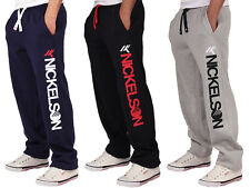 Nickelson Mens Designer Fleece Jogger Jogging Bottoms Pants Bottoms Carnaby