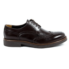 Versace 19.69 914 VITELLO T MORO Brogue uomo Marrone Scuro IT