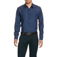 Versace 19.69 377 VAR. 505 Camicia uomo Blu Scuro IT