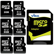 New High Speed Class 10 Micro SD SDHC SDXC Memory Card For MOTOROLA Mobile Phone
