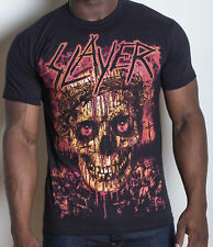 SLAYER Crowned Skull T-SHIRT OFFICIAL MERCHANDISE