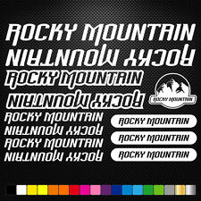 KIT ROCKY MOUNTAIN  ADESIVI BICI STICKERS BIKE MTB BDC BICICLETTA PRESPAZIATI