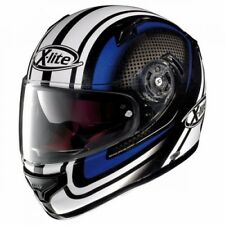 Casco X-LITE X-661 Slipstream N-Com Metal Negro/Azul 36