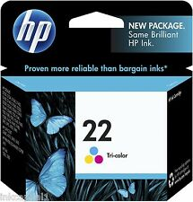 HP No 22 COLOR ORIGINAL OEM Cartucho de Tinta C9352AE Deskjet