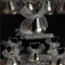 108 wedding place card silver metal working bell table number menu card holders