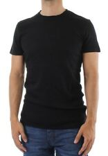 Solid Camiseta T-Shirt Hombre noibas Negro